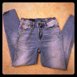 Jcrew high rise jeans